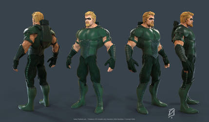 Green-Arrow by patokali
