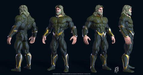 Aquaman-Toon-KS by patokali