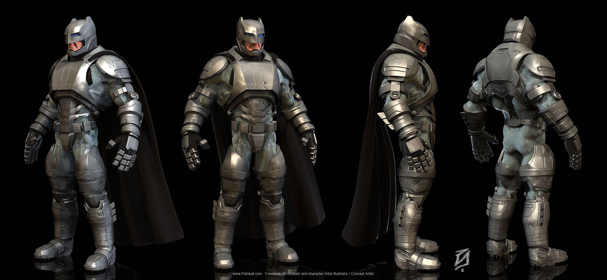 Batman-armor-suit2 by patokali