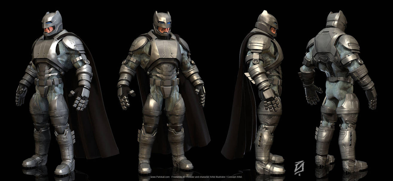 Batman-armor-suit2 by patokali