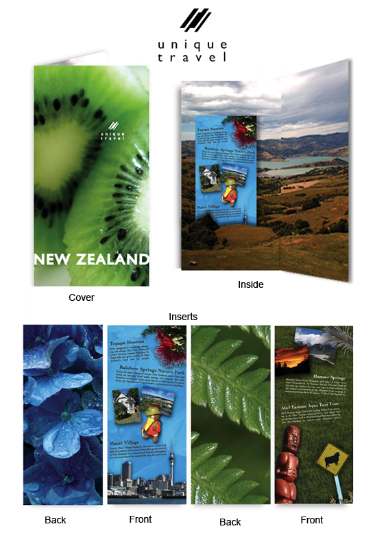 New Zealand Travel Brochure by stevethehouse