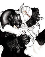 Midnighter vs Fantomex by bithartist