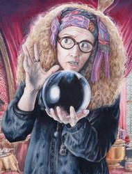 Harry Potter- Professor Trelawney by Kelii