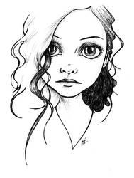 -a little curl- by mirjaT