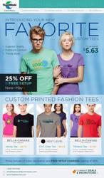 Teamworld Fashion Shirts E-Blast by Garconis