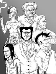 Your Wolverine Family by AwesomeNinjaDude