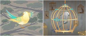 Beautiful bird, beautiful cage by liea