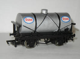 Esso Oil Tanker by SilverBand7