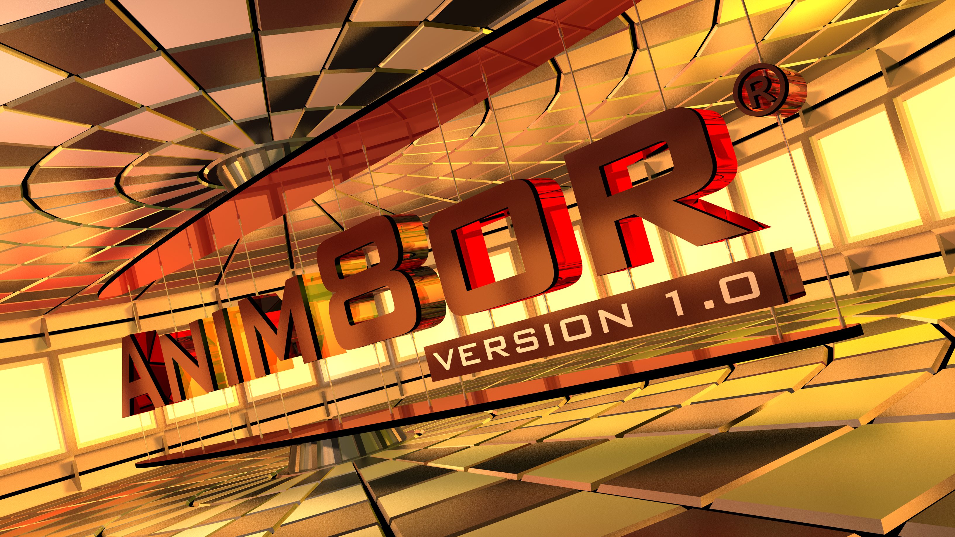 Anim8or v1.0 Splash Screen Contest Submission by TheColclough