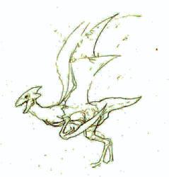Scyther by MetalReaper