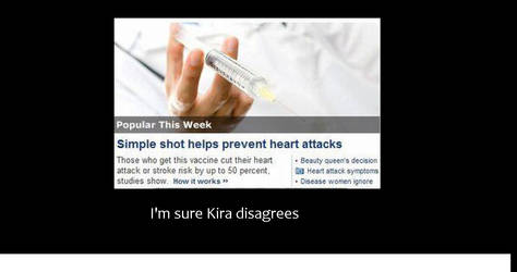 Kira diagrees. by Icinoddness13Izuna