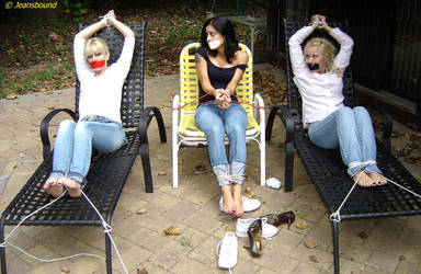 III - Jacquelyn, Jamie, and Jai Dee by Jeansbound