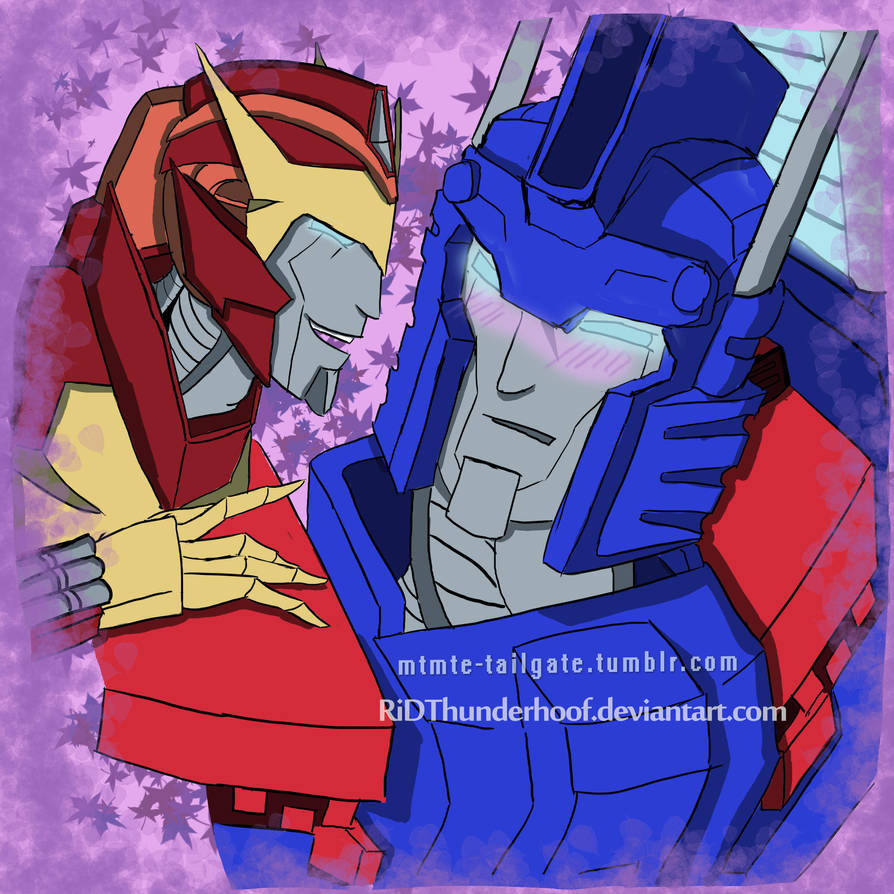 mtmte rodimus x ultra magnusridthunderhoof on deviantart