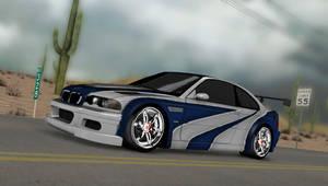 [MMD Cars] BMW M3 GTR with CM6 Wheels by masterchief2021