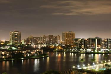 Fort Lauderdale by Night by StewartSteve