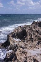 Crashing Waves on Rock by StewartSteve