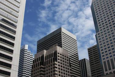 San Francisco Skyscrapers by StewartSteve