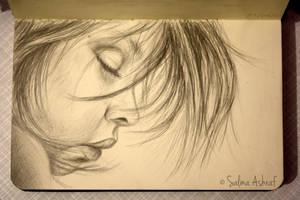 Asleep by esayelemay