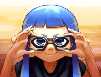 Bespectacled Inkling by NatahanStudios