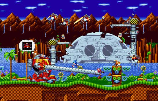 Green Hill|Sonic Mania Custom Scenes by Wilson-M28