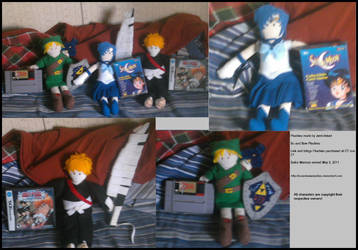Lance's So and Sew Plushies by Jemi-Linked