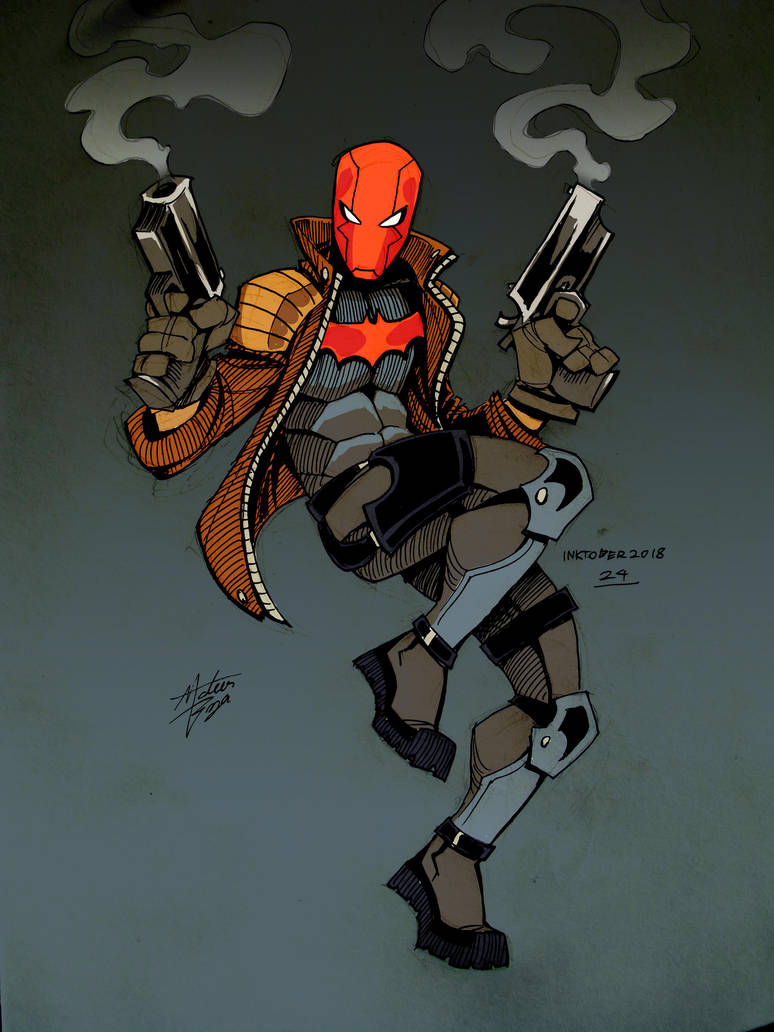 Red Hood (Colors) by mateusboga