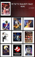 My Top 10 Favourite Movies by CrescentDream15