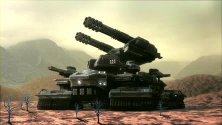 UEF T5 Mobile Artillery by Avitus12