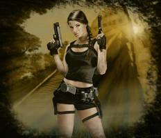 Anastasya Zelenova is Lara Croft v2 by Avitus12
