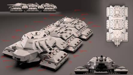 Dreadnaught MK-II stats by Avitus12