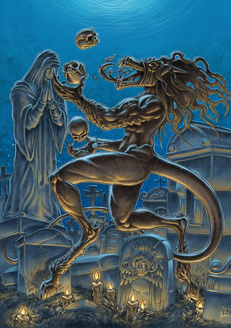 Graveyard Demon by phrenan