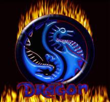 ying and yang Dragons by dragonlordq