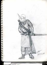 Daelom Sketch by tehbrae