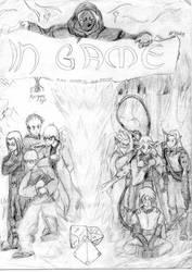 Graphic Novel Cover by tehbrae