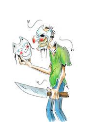 Theodore the maniac  by Jokerisimo