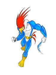 Bruce woodpecker wayne by Jokerisimo