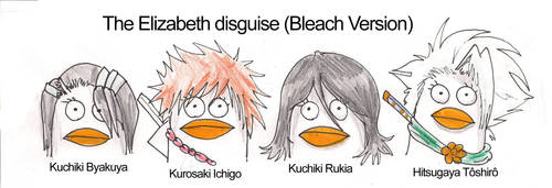 Elizabeth Disguise in Bleach by KerriganBuwan