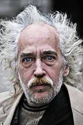 portrait of a man by SergejE