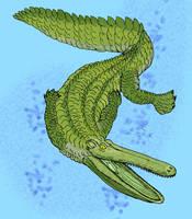 Stomatosuchus inermis Version1 by avancna