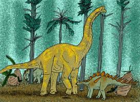 Giraffatitan brancai by avancna