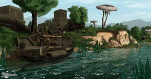 Ascadian Isles ( Dren) by RomanDubina