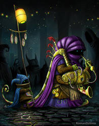 The Bagpiper by RomanDubina