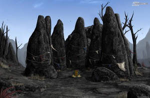 The shrine on Mount Assarnibibi by RomanDubina