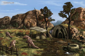West Gash. Drulene Falen's Hut by RomanDubina