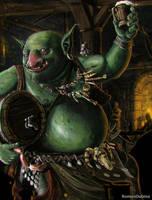 Drunken Troll by RomanDubina