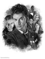 Doctor Who (10th Doctor) by RomanDubina