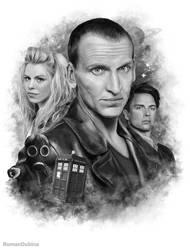 Doctor Who (9th Doctor) by RomanDubina