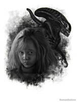 Newt (Aliens) by RomanDubina