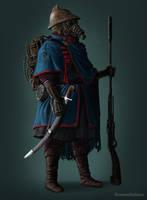 Clockwork Rifleman by RomanDubina
