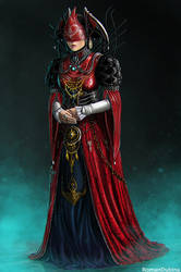 Red Queen by RomanDubina